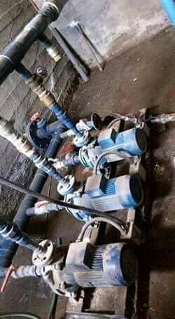 Instalación de BOMBAS ELÉCTRICAS EN CISTERNAS