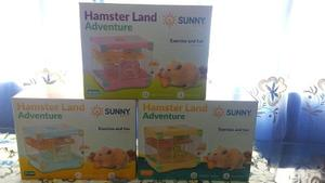 Jaula Hamster Land Adventure 28x21x25cm Raton Hogar