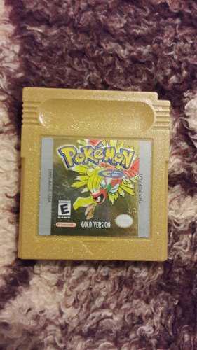 Juego Game Boy Pokemon Gold