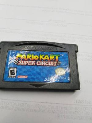 Mario Kart Super Circuit Gba Game Boy Advance Nes,snes,psp,