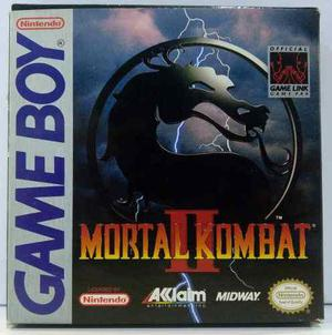 Mortal Kombat Ii Nintendo Game Boy Gb Completo Retromex Tcvg