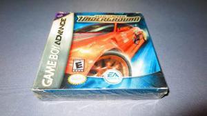 Need For Speed Underground Game Boy Advance Nuevo Y Sellado