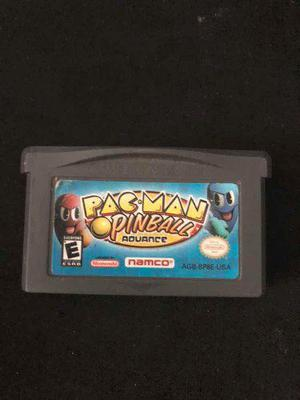 Pac Man Pinball Advance Nintendo Game Boy Advance Original