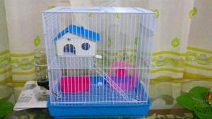 Pet-home Jaula Hamster 34x23.5x36cm Hamster Jerbo Roedor