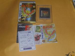 Pocket Monsters Gold Pokemon Gb Game Boy Japones