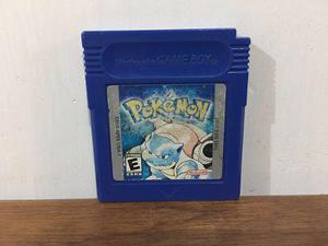 Pokemon Blue Version Para Game Boy / Gb Animate