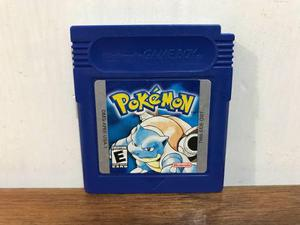 Pokemon Blue Version Para Gameboy / Gb Excelente Estado Mint