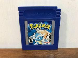 Pokemon Blue Version Para Gameboy / Gb Excelente Estado Mint