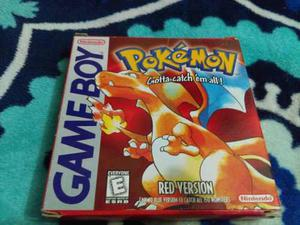 Pokemon Red Version Para Game Boy Con Caja Original