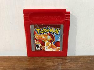 Pokemon Red Version Para Gameboy / Gb Excelente Estado