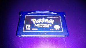 Pokemon Shapphire Version Para Nintendo Game Boy Advance