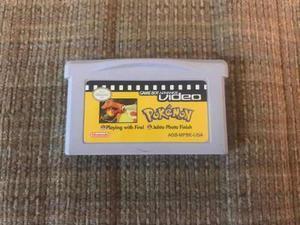 Pokemon Vídeo Para Game Boy Advance