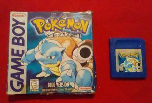 Pokémon _ Blue Version _ Game Boy _ Shoryuken Games