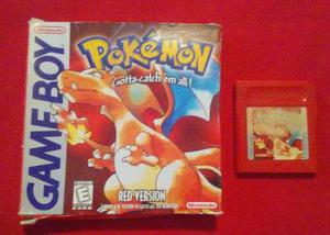 Pokémon _ Red Version _ Game Boy _ Shoryuken Games