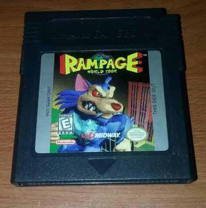 Rampage World Tour Para Gameboy