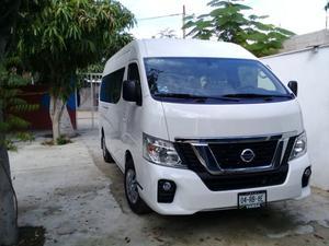 Rento camioneta Urvan  para 15 pasajeros para transporte