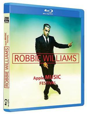 Robbie Williams Apple Music Festival Concierto En Blu-ray