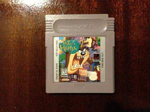 Taz Mania 2 Para Game Boy En Buen Estado De Coleccion