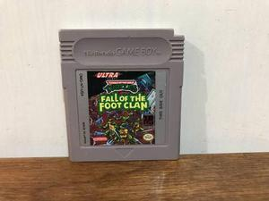 Teenage Mutant Ninja Turtles Fall Of The Fool Clan Gameboy