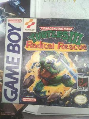 Teenage Mutant Ninja Turtles Iii: Radical Rescue Gameboy Rar
