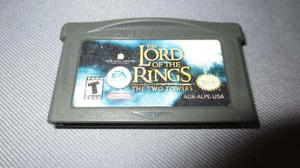 The Lord Of The Rings Gba The Two Towers Gameboy Advance