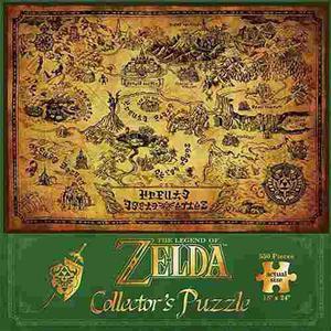 Udt Eeuu Puzzle: La Leyenda De Zelda Hyrule Map Opoly