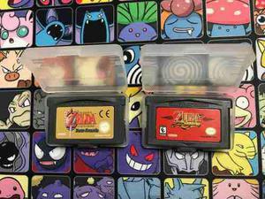 Zelda Four Sword Y Zelda Minish Cap Para Gameboy Advance