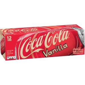 6 Latas Coca Cola Vainilla + 6 Cherry Coke Envio Gratis
