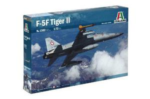 Avion F-5 F Twin Seater Escala 1:72 Italeri 1382