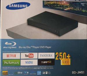Blu Ray Samsung Smart Bd-jm51 Con Conexion De Cable Lan