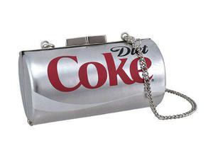 Bolsa De Mujer De Lata De Coca Cola De Dieta