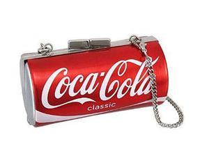 Bolsa Forma Lata De Coca Cola Coca-cola Classic Can