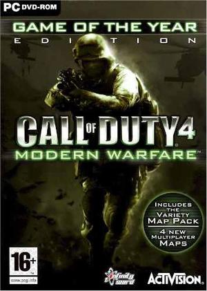 Call Of Duty 4 Modern Warfare Game Of The Year Juego Pc Vv4