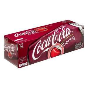 Coca - Cola Sabor Cereza C/12 Latas Sabor Increible Original