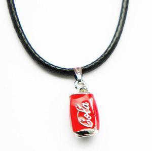 Collar Lata Coca Cola Hombre Mujer Amigos Kawaii