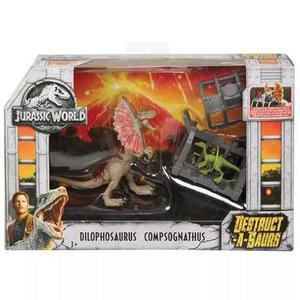 Dinosaurio Jurassic World Dilophosaurus Nuevo Facturamos!!