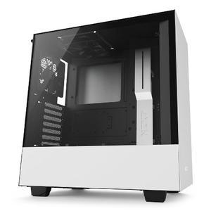 Gabinete Nzxt H500 Blanco Atx Cristal Templado Usb 3.0