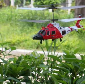 Helicoptero Rc Syma S111g Marines Con Luz Led 3.5 Ch