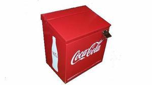 Hielera Coca Cola 12 Latas Metalica