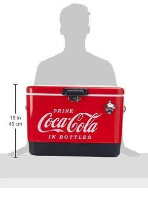 Hielera Metalica De Coca Cola Hasta 85 Latas Envio Gratis