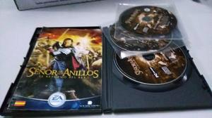 Juego Pc El Señor De Los Anillos 3 Discos Coleccion