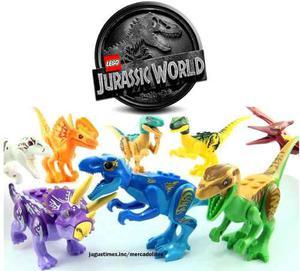 Jurassic World 8 Dinosaurios Tipo Lego El Reino Caido