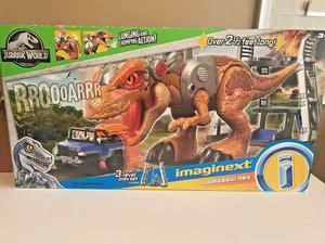 Jurassic World Rex Imaginext Dinosaurio 80 Cms