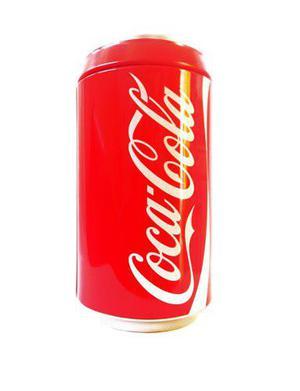 Lata Alcancia De Coca Cola Vintage Coleccionable Original