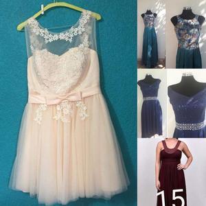 Lote de 10 vestidos de fiesta