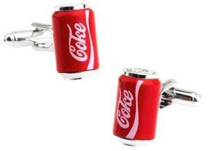 Mancuernillas Coca Cola Coke Lata Camisa - Envío Gratis
