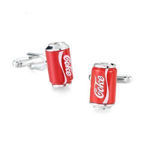 Mancuernillas Lata De Refresco De Cola, Coca