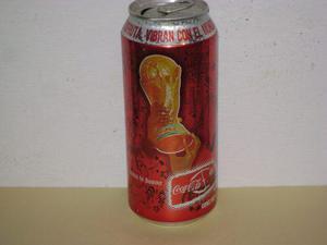 Mega Lata Cocacola Mundial Alemania 2006