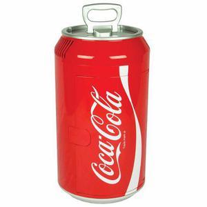 Mini Refrigerador Coca Cola Cc06 8 Latas Rojo Bote Lata