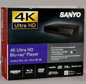 Reproductor Sanyo Ultra Hd 4k Nuevo Super Precio